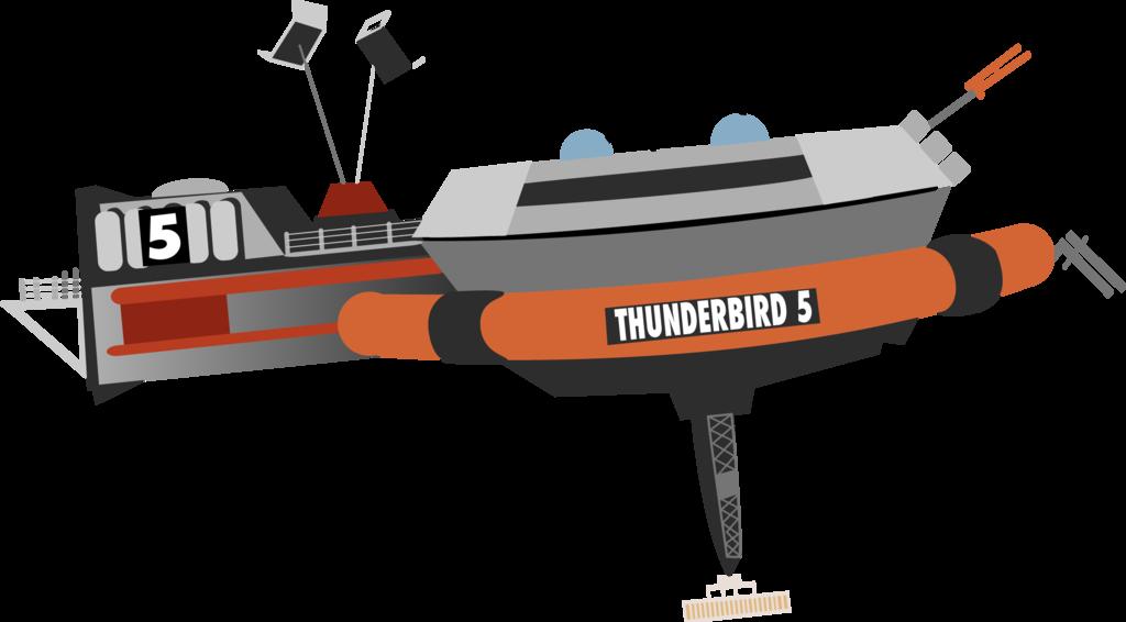 ThunderBird 5 by redkitebait.deviantart.com on @deviantART
