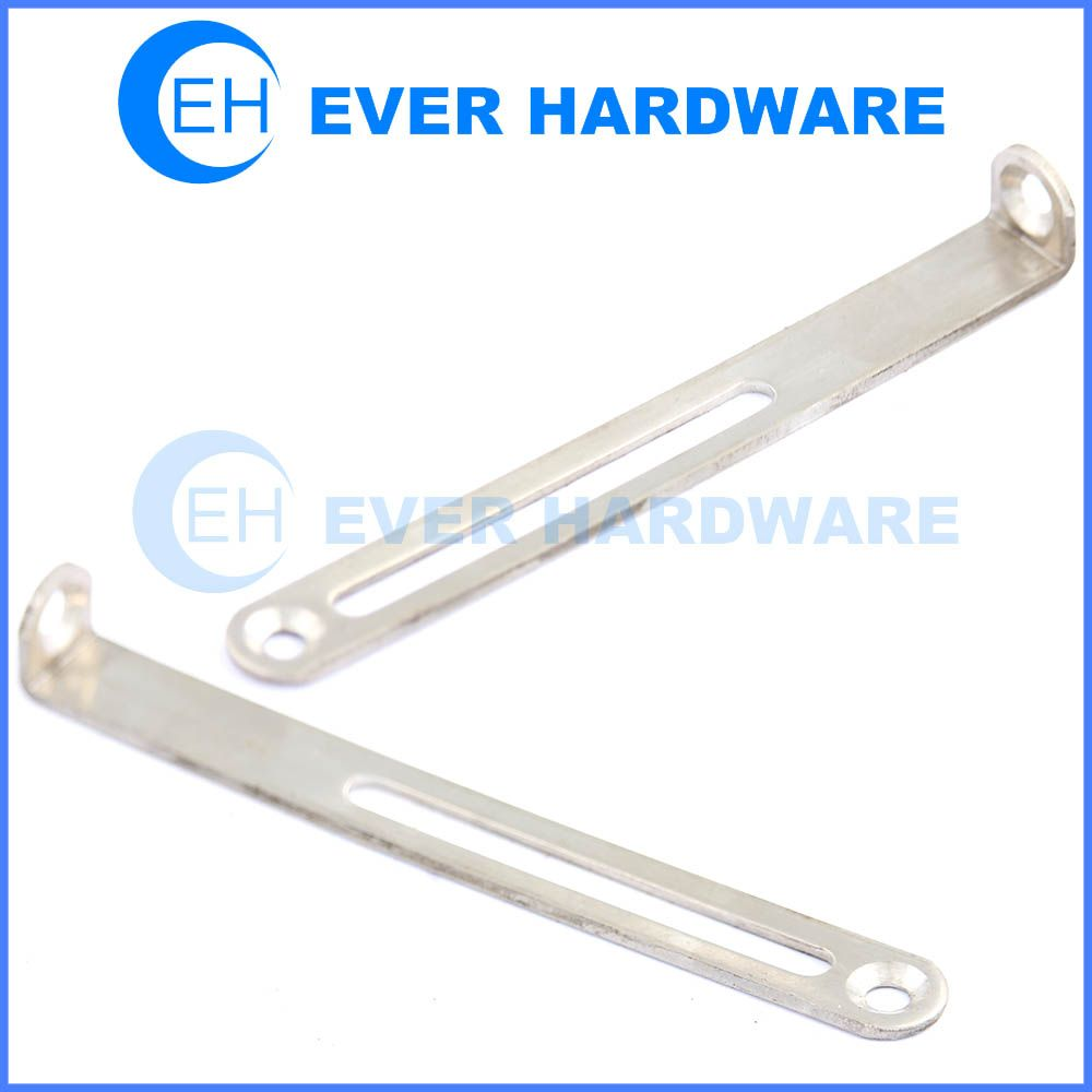 Adjustable Shelf Support Closet Rod Bracket L Shaped Stainless Steel