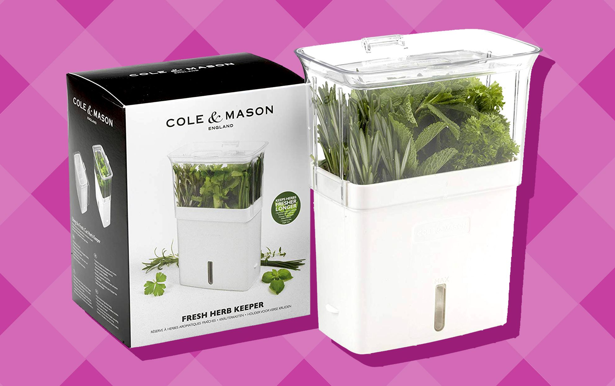 You Can Keep Your Herbs Fresh for Days With This Self-Watering Container #selfwatering