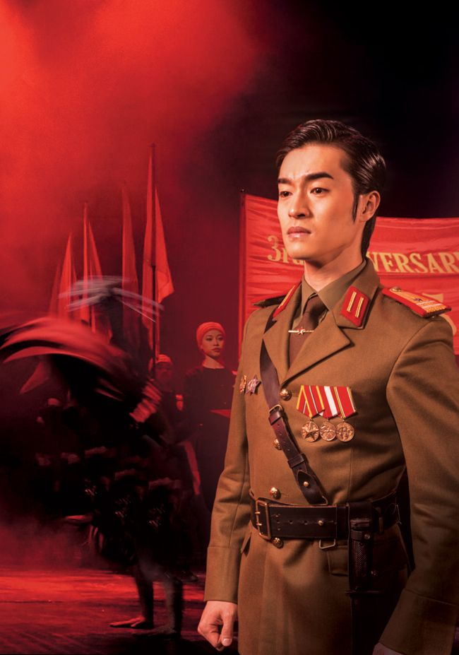 Korean actor shines in London's West End