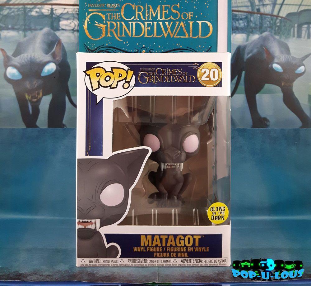 Action-Figuren Figuren Matagot GITD POP Fantastic Beasts Crimes Of Grindelwald #20 Vinyl Figur Funko