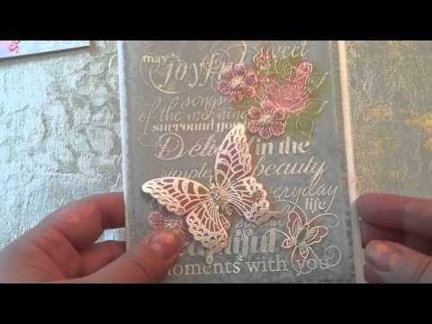 Scrapbook Expo - Part 2: Angel-Kissed Vellum Cards