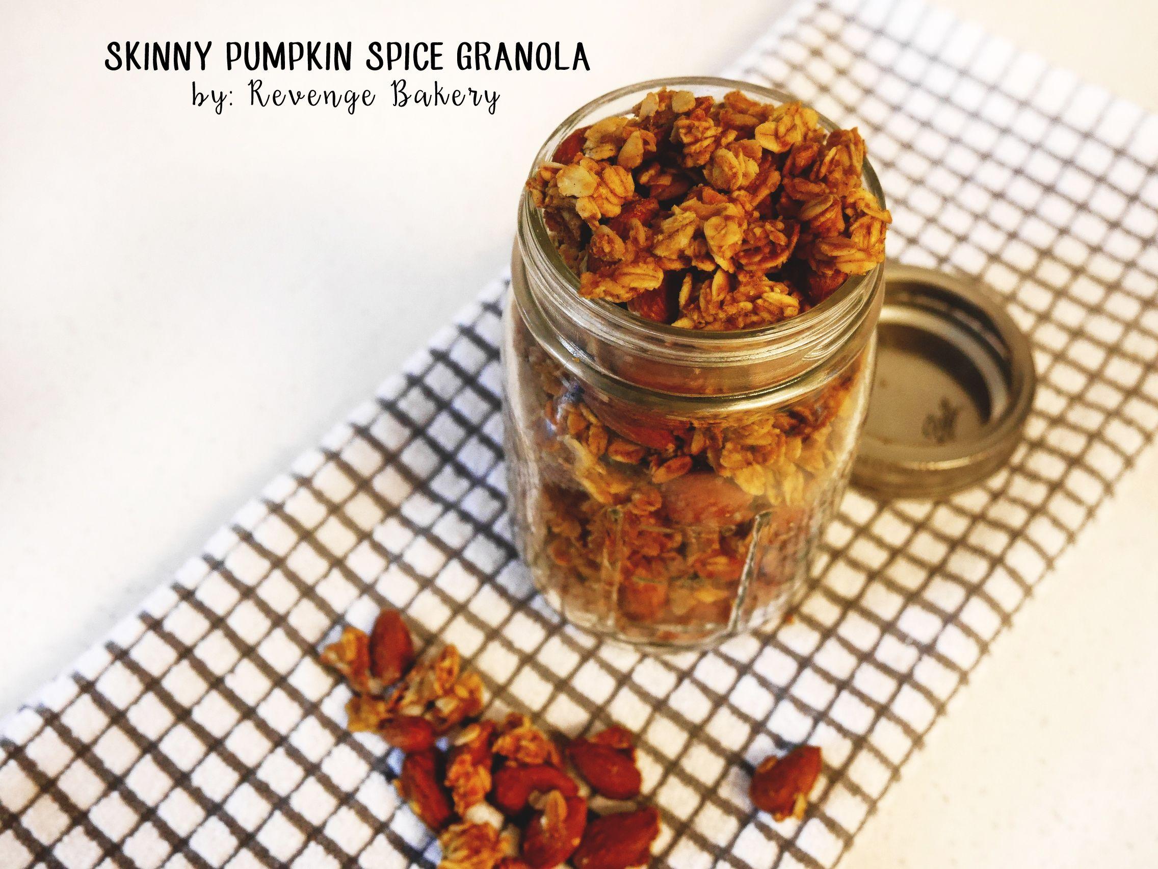 Call me basic skinny pumpkin spice granola pumpkin