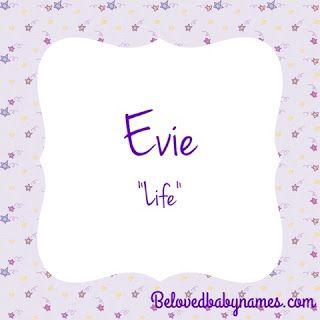 Beloved Baby Names: Ways to Get to Evie | Rainbow baby ...