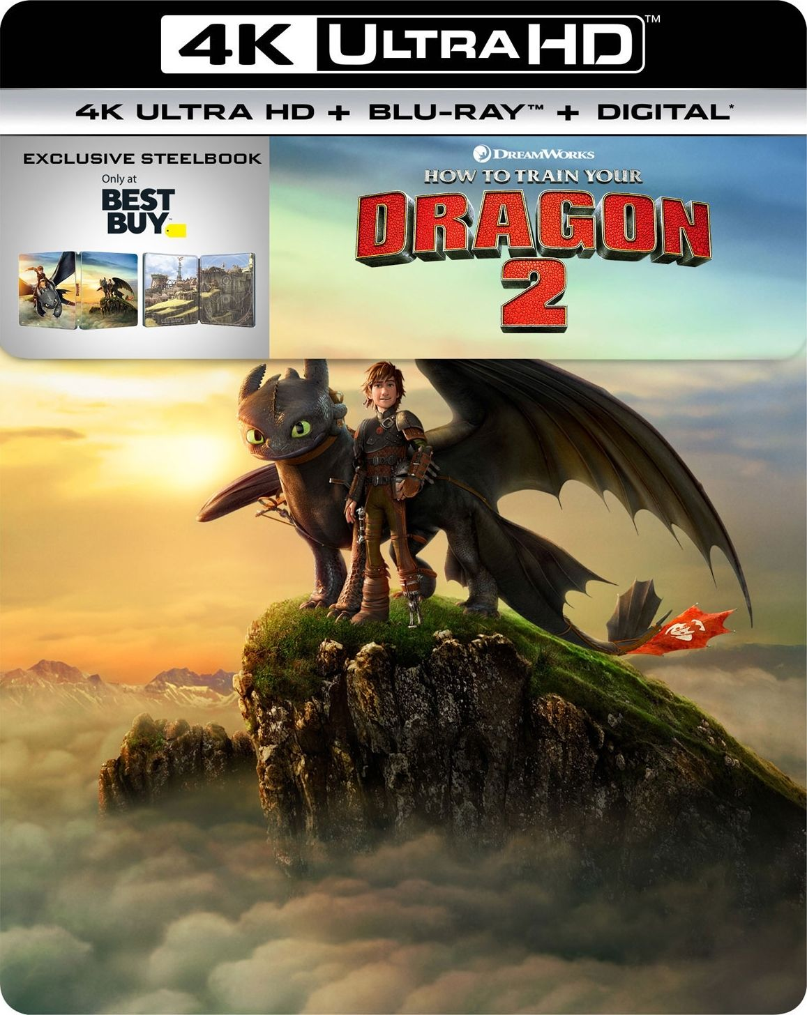 How To Train Your Dragon 2 4k Blu Ray Best Buy