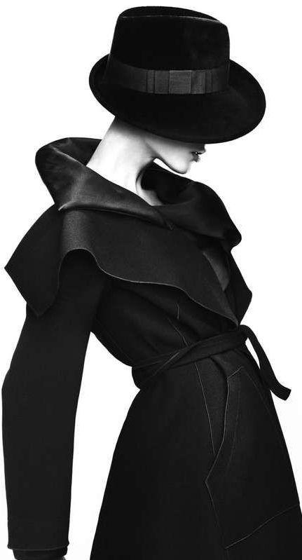 Giorgio Armani Timeless style....classic black ♥
