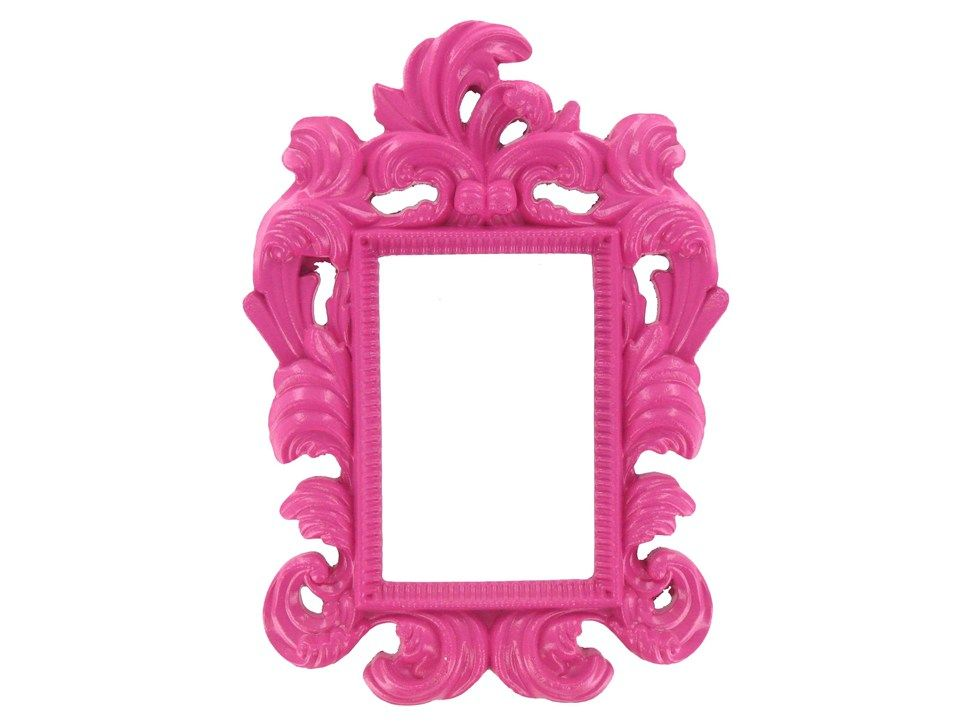 pink picture frames | Hot Pink Ornate Photo Frame | Great Foundation ...