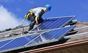 10kw Ground Mount Solar Installation Kit 10 000 Watt Solar Pv System Complete Grid Tie Systems Solar Kit Solar Energy Panels Solar Heating