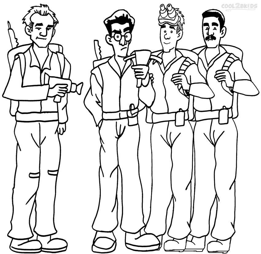 Printable Ghostbusters Coloring Pages For Kids Cool2bKids - best of doctor who coloring pages online