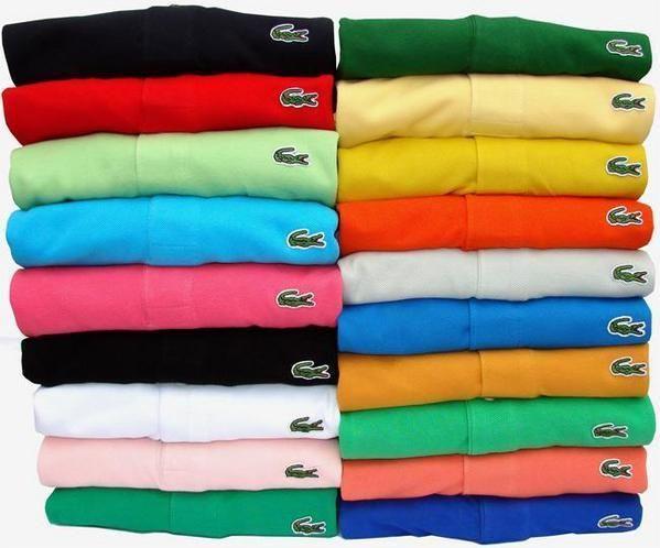 92e657a455 Je serais ravie d'avoir toutes les couleurs ... Lacoste | Endroits à ...
