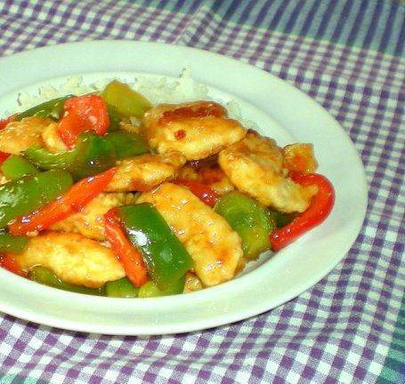 Sweet and sour chicken - A small batch