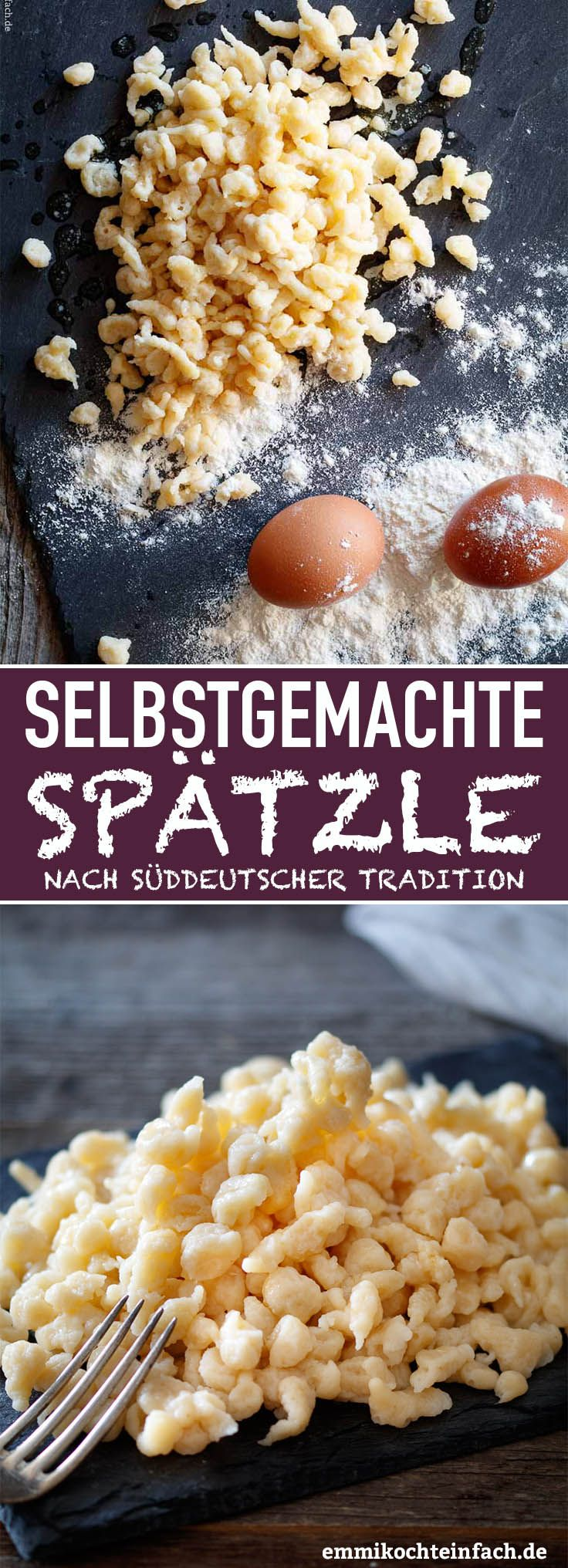 Photo of Omis homemade spaetzle according to southern German tradition – easy to cook