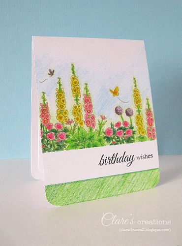 One Layer card by clare272, via Flickr