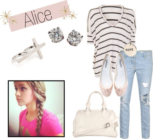 """Alice!"" by monstaafreakxd ❤ liked on Polyvore"