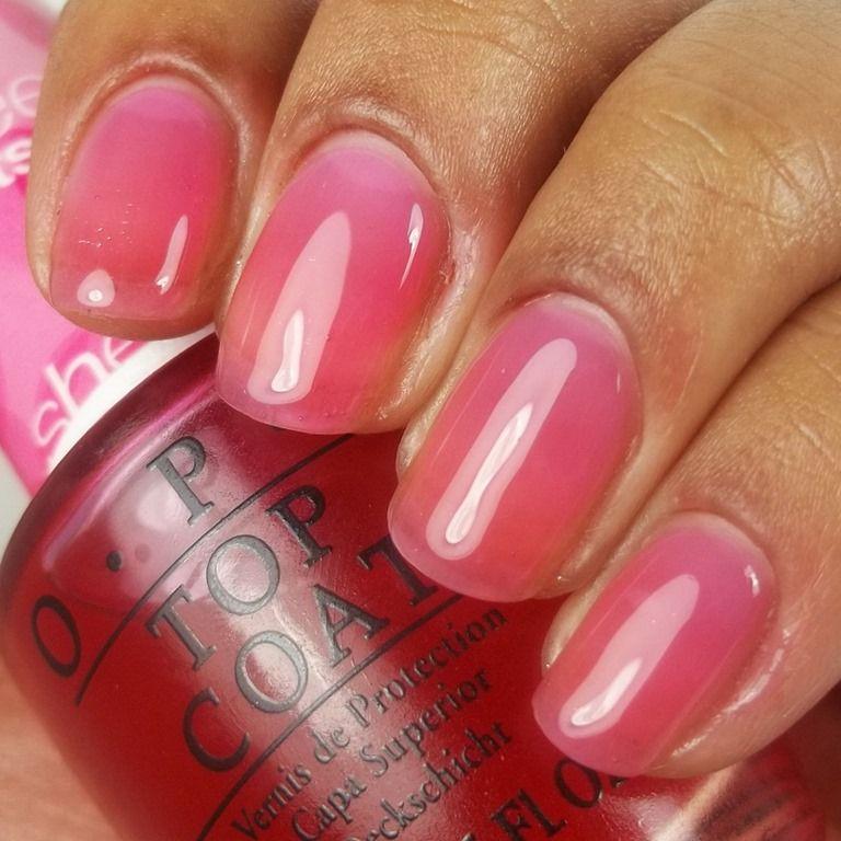 Sheer Pink Opi Nail Polish: OPI Sheer Tints Be Magentale With Me