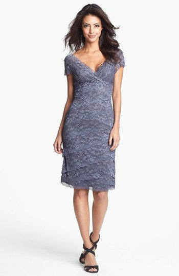 Marina Tiered Lace Dress Regular Amp Petite Lace Dress