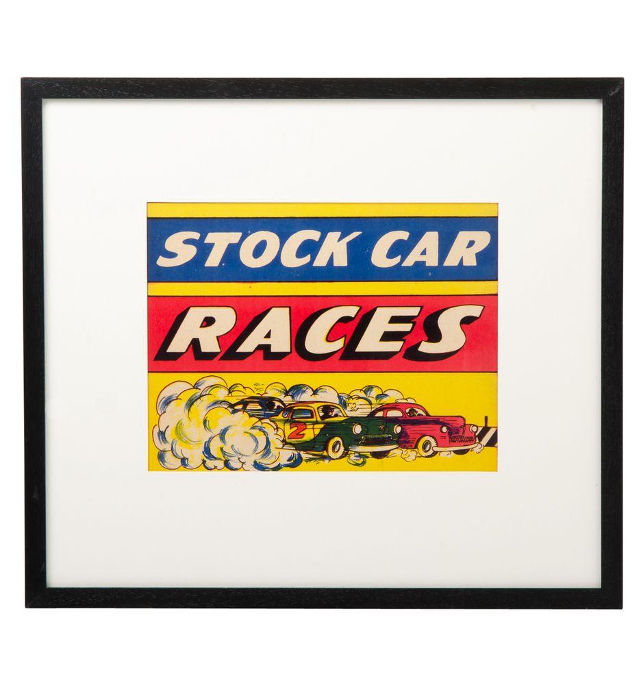 Stock Car Racing, Stock Car
