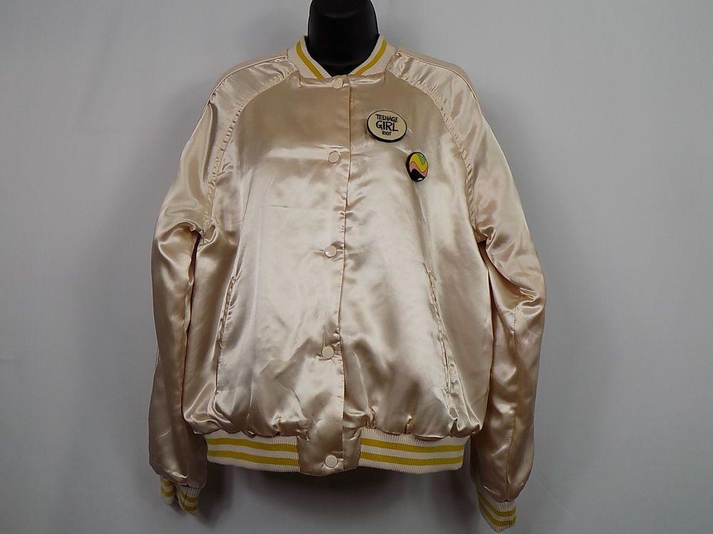 Pull Bear Youth Women Jacket Pretty On The Outside Size 12 14 Retro Nwt Pullbear Varsityjacket Everyday Zhenskie Kurtki