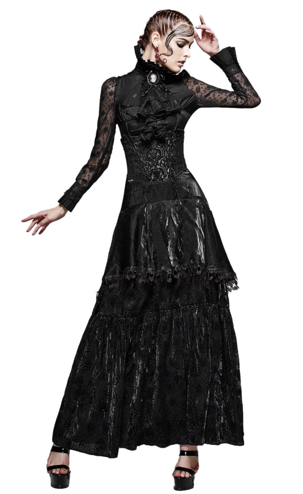 23abe9cdf1a Longue jupe gothique romantique  mystical