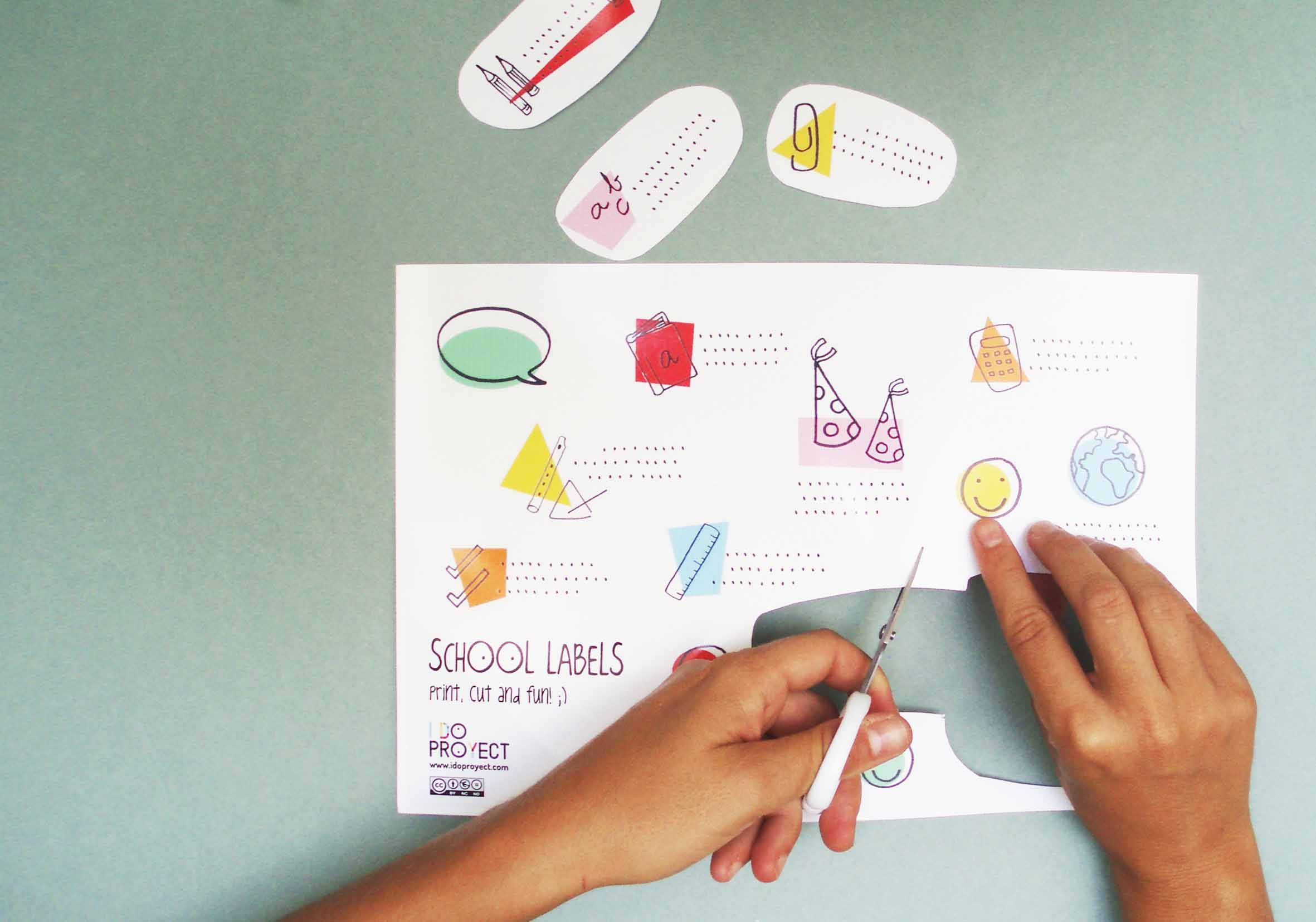 Imprimible etiquetas para el cole back to school free printable labels manualidades pinterest - Etiquetas para el cole ...