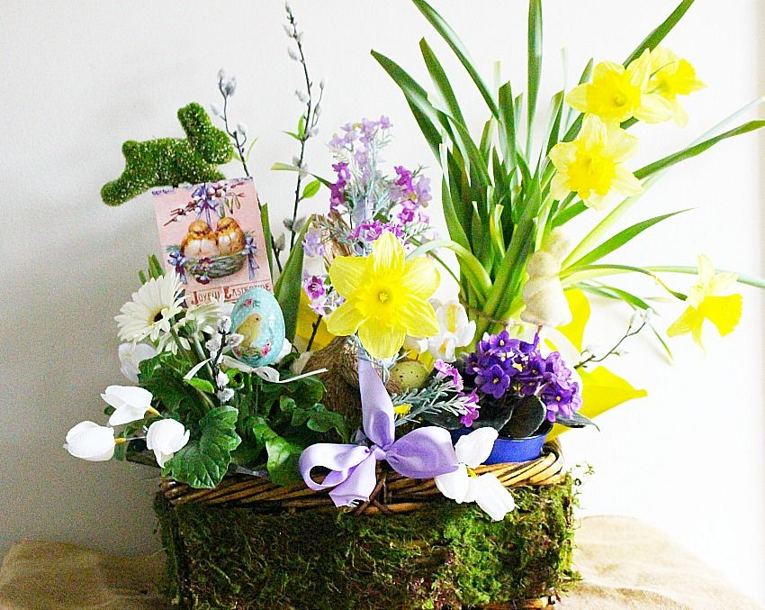 Martha stewart inspired easter basket blog hop easter baskets martha stewart inspired easter basket blog hop our crafty mom negle Images