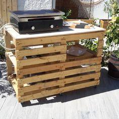 Meuble Exterieur En Palette Sur Roulettes Meuble Exterieur Mobilier De Salon Salon De Jardin Palettes