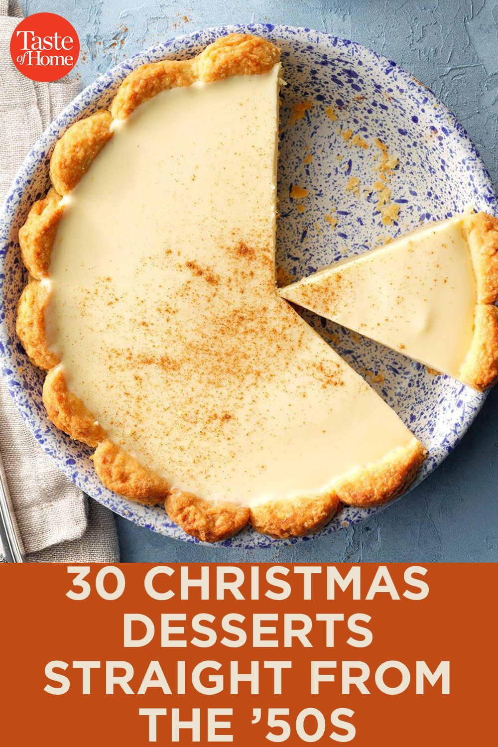 30 Christmas Desserts Straight from the '50s #christmasdesserts