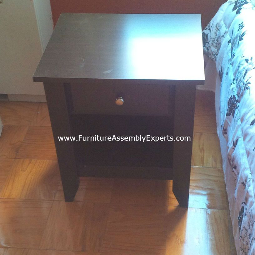 south shore night stand assembled in pikesville md by furniture assembly experts llc call