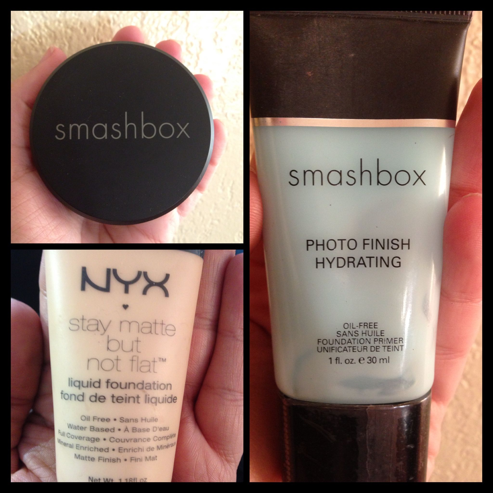 Nyx Stay Matte But Not Flat Powder Foundation Shade Finder Perfect Complexion Cocktail Smashbox Hydrating Primer Nyx Stay Matte But Not Flat Full Coverage Foundation Perfect Complexion Nyx Cosmetics Hydrating Primer