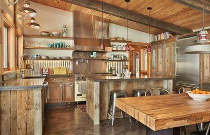5 tips para una cocina rstica - Muebles De Cocina Rusticos
