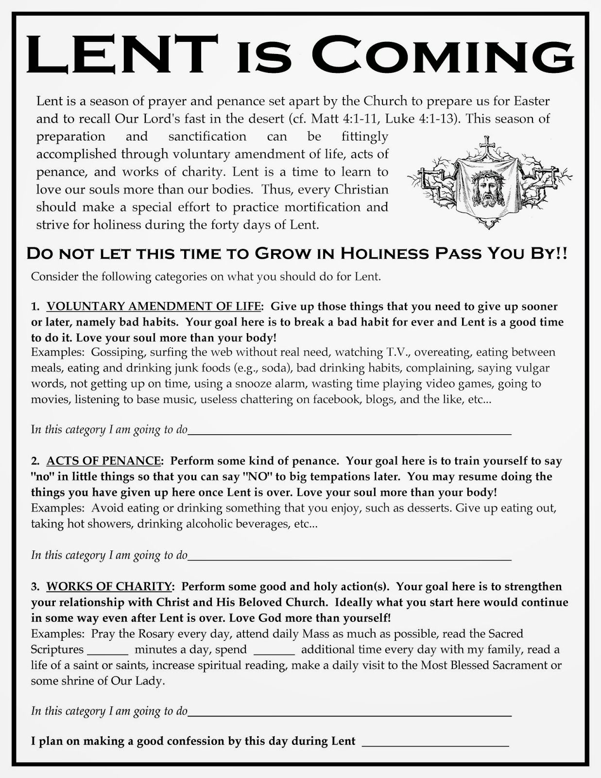 Rorate C Li Lent Is Coming Time To Prepare Printable