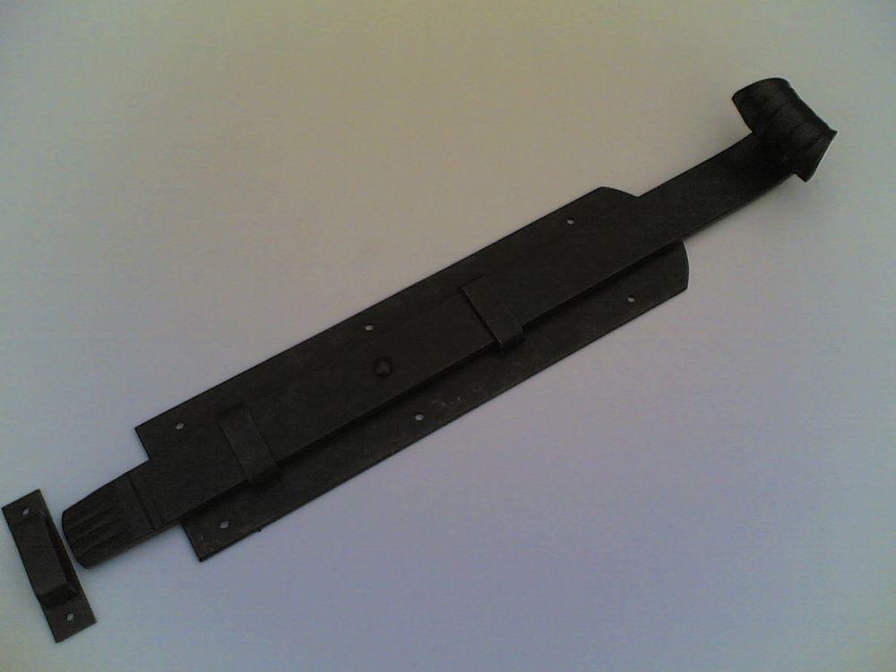 Catenaccio di 45 cm in ferro invecchiato