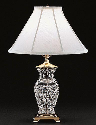 Waterford Crystal Kingsley 22 Crystal Lamp Crystal Table Lamps Crystal Lamp Waterford Lamp
