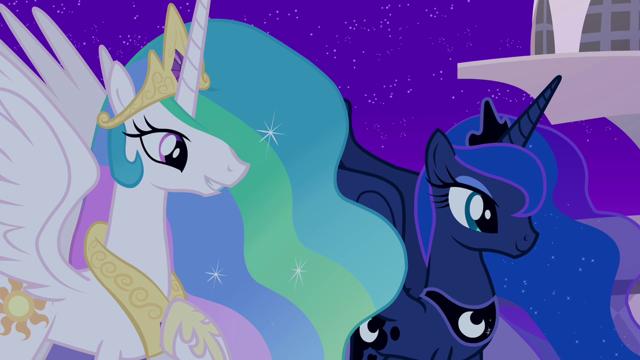 Princess Luna and Princess Celestia, MLP