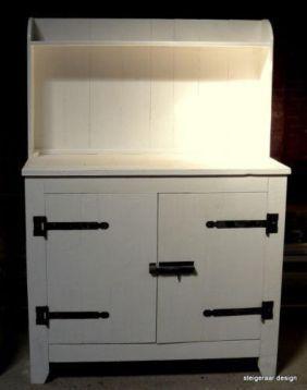 Sloophout Commode Aankleedkast Wit Ook Steigerhout