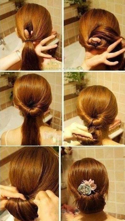 Häufig coiffure-rapide-cheveux-mi-long-.jpg 406 × 720 pixels | coiffures  KL35