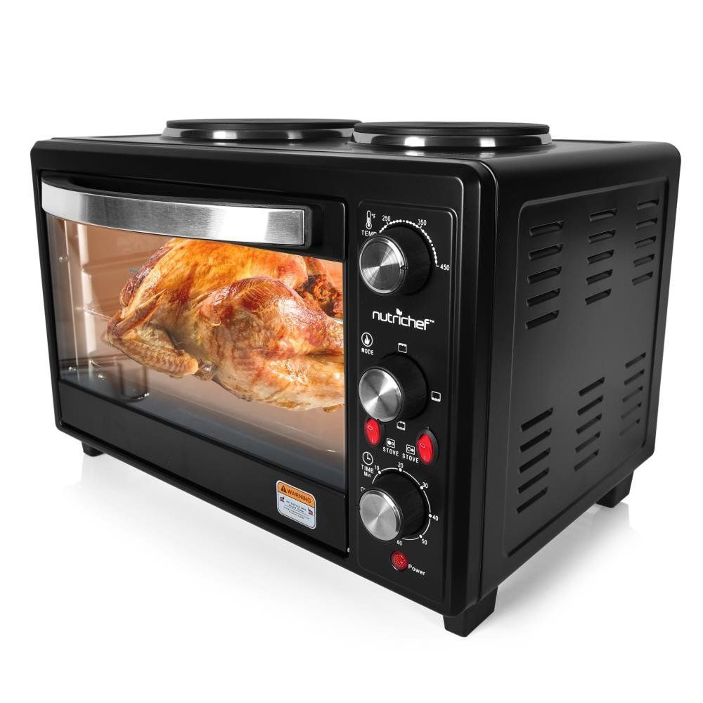 Home Appliances Mini Ovens Rotisserie Grill Electric Roaster Oven Convection Toaster Kitchen Appliance NEW
