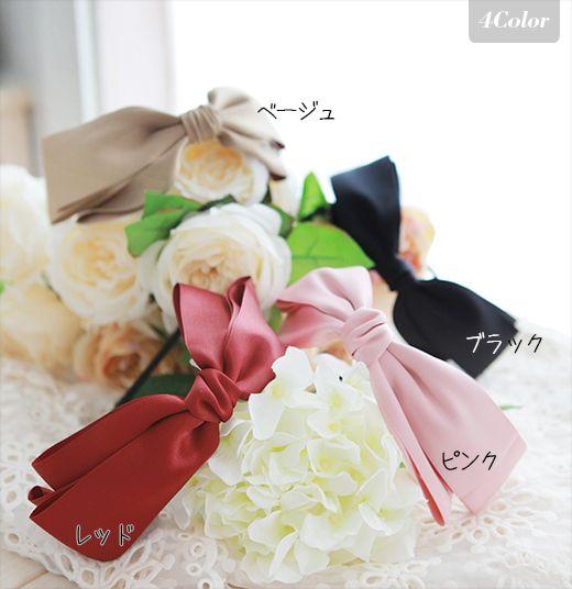 Sabrina Big ribbon Kachu [Rakuten - [Publisher extension wig wig wig fashion hair accessories】: wig-extension @ Linea-Storia