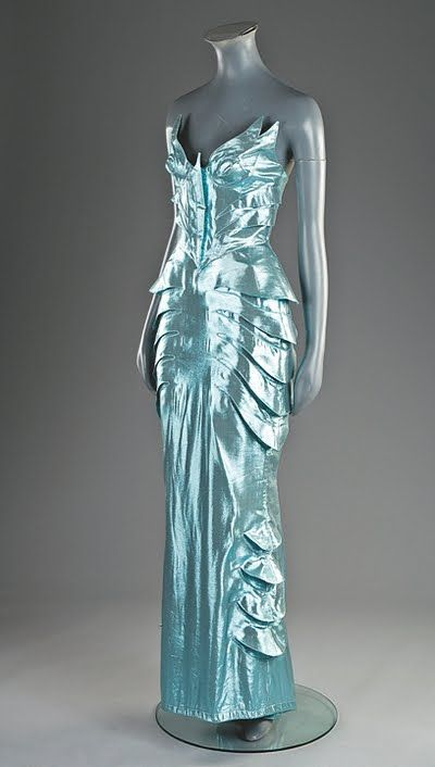 the best attitude a42a5 503ca Vintage Thierry Mugler dress | Thierry Mugler couture | Moda ...
