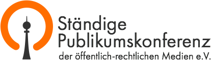 Ständige Publikumskonferenz der öffentlich-rechtlichen Medien e.V. ––––––––––––––––––––––––––––– Eingabe - https://publikumskonferenz.de/blog/programmbeschwerde Blog - https://publikumskonferenz.de/blog . . Forum - https://publikumskonferenz.de/forum Wiki - https://publikumskonferenz.de/wiki/wiki/Hauptseite