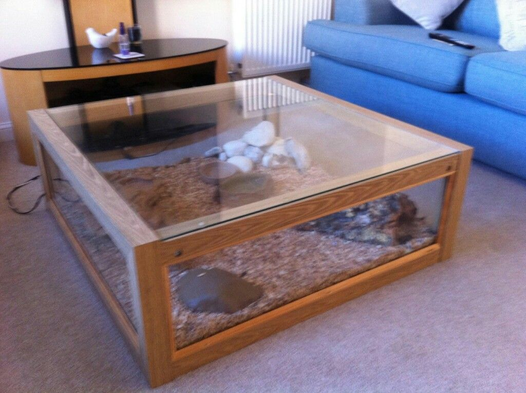 reptile coffee table for sale
