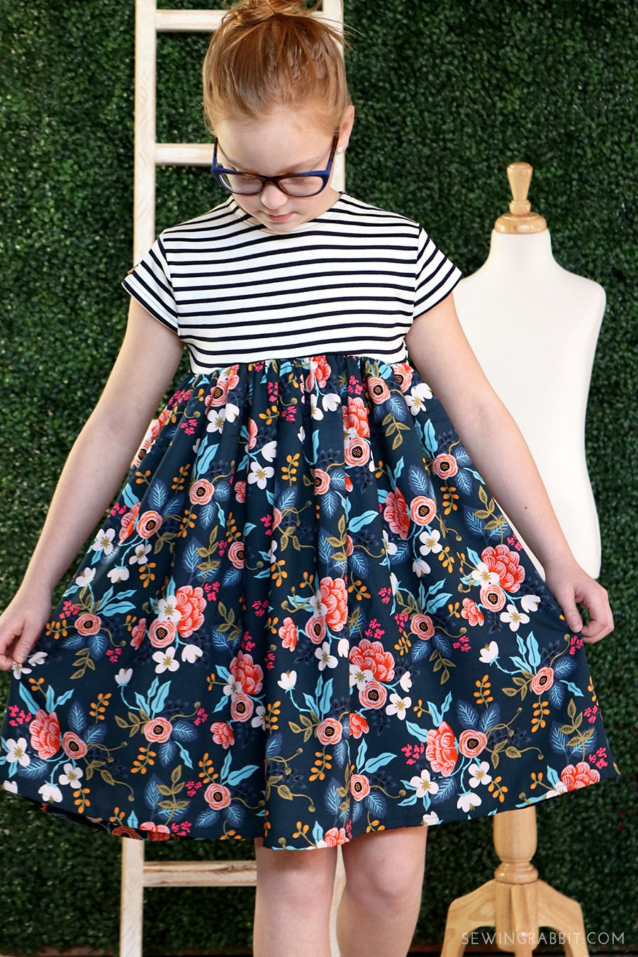 cb7d90305b6 Make this Look  Rifle Paper Co. babydoll dress