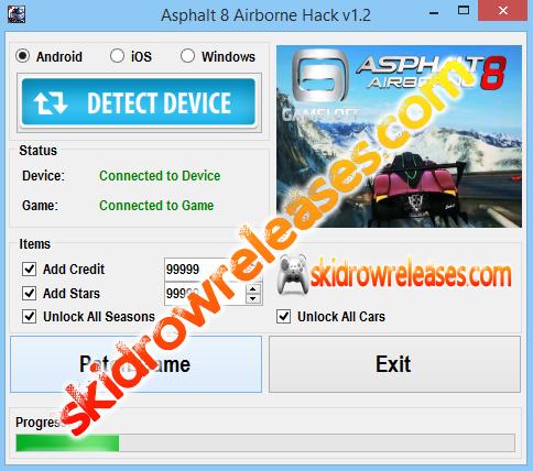 Asphalt 8 Airborne Hack v1.2 | Skidrow Releases | Pinterest | Hack ...