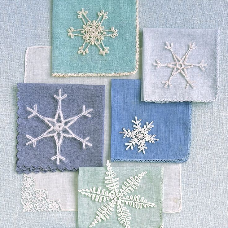 Crocheted snowflakes crochet snowflakes filigree and for Snowflake template martha stewart