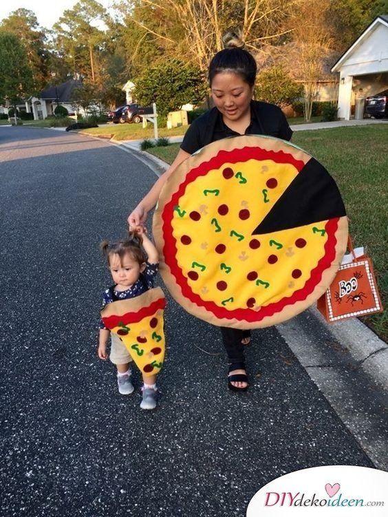 20 Familienkostüme selber machen Ideen für Karneval, die