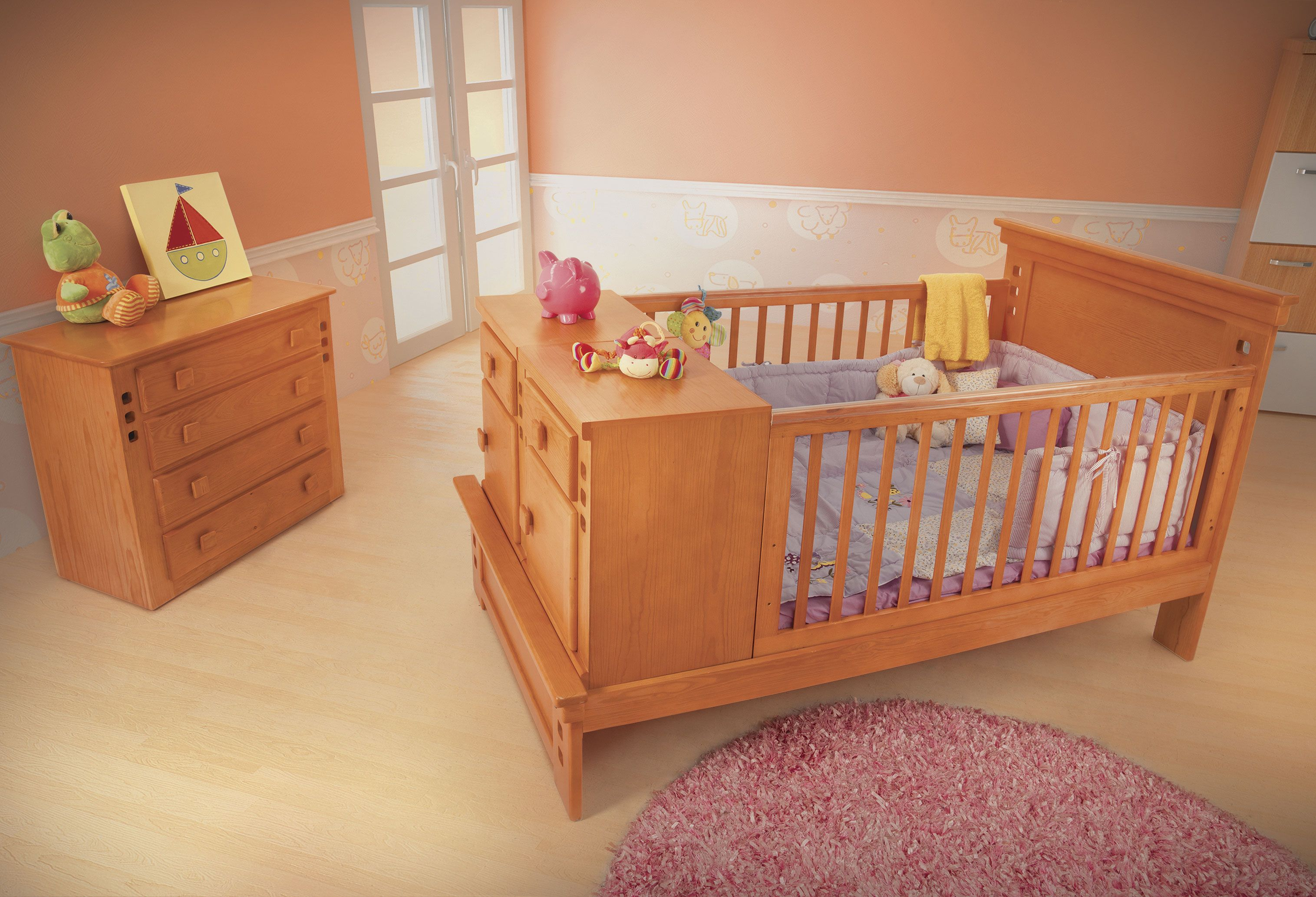 Cuna Florence Avellana de Placencia Muebles | Kids and Teens ...