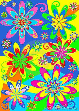Colorful Hippie Pictures