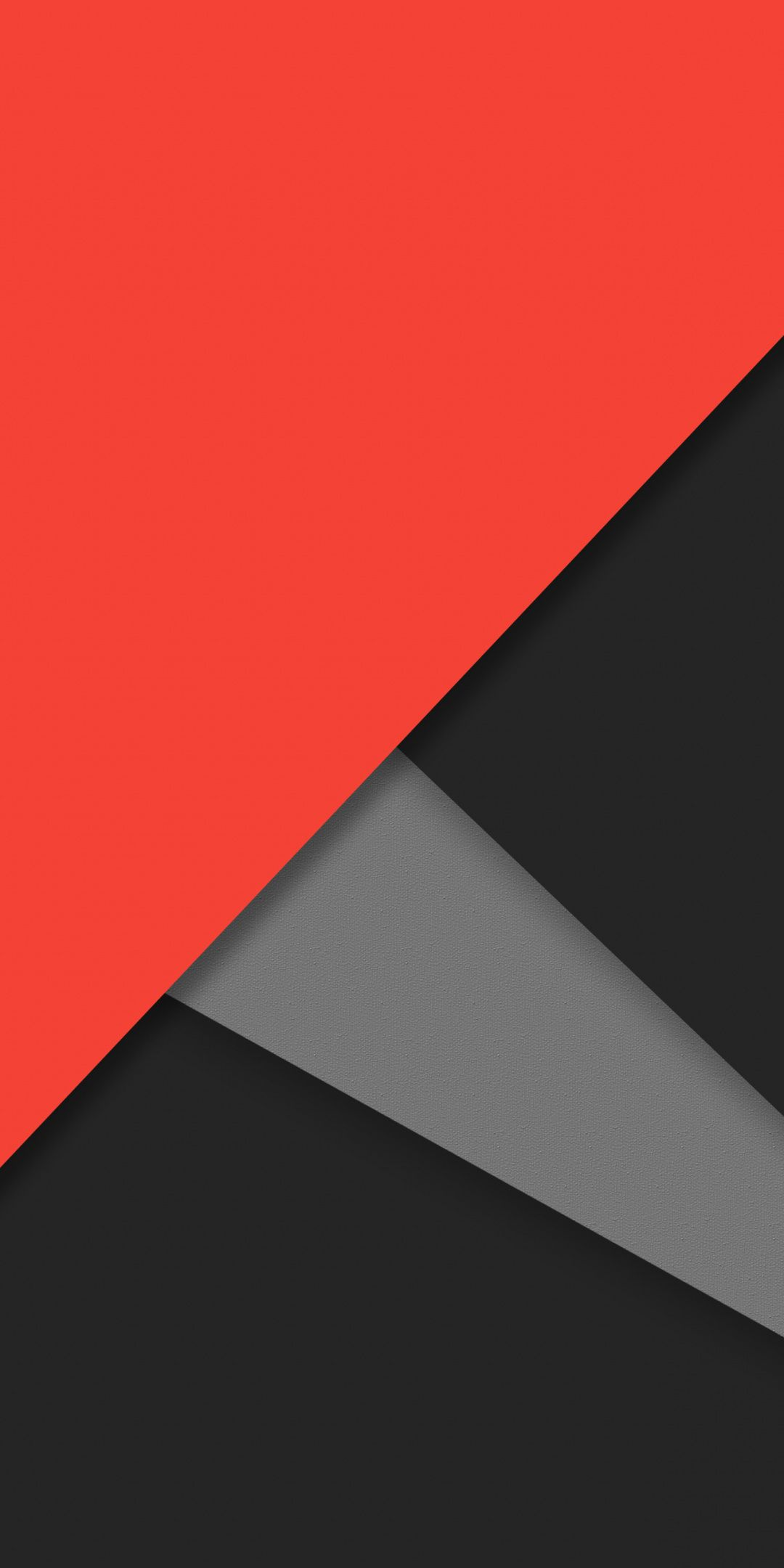 Material Design Simple Abstract Dark Orange 1080x2160