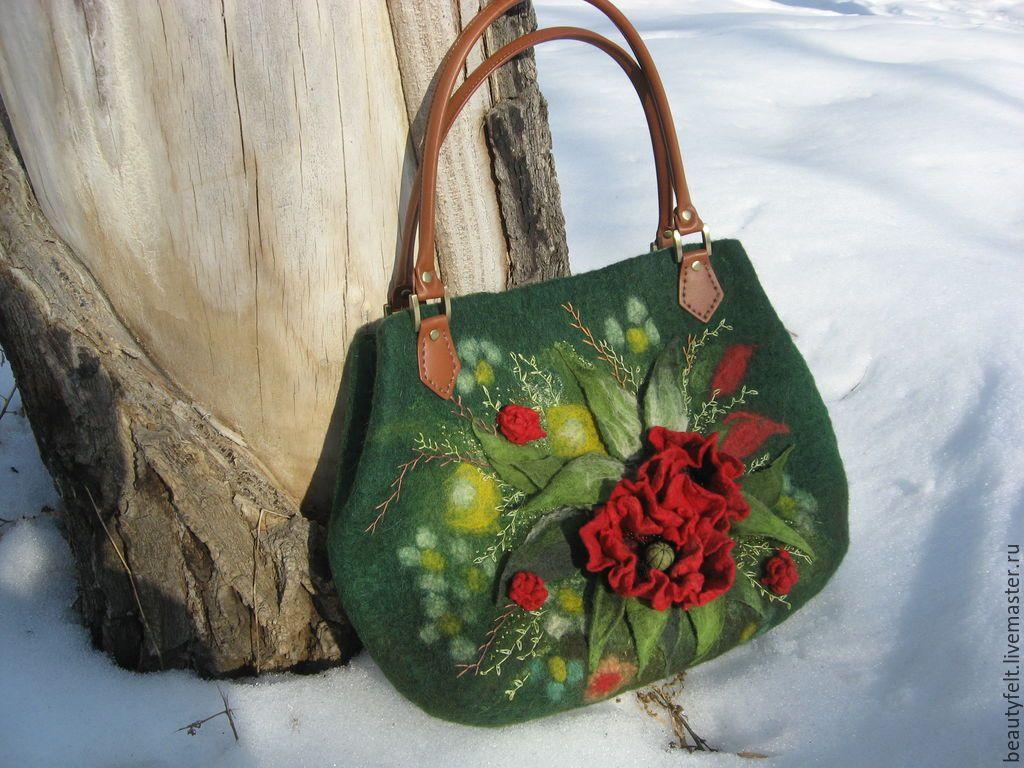 0e384f4eaac7 валяные сумки - Поиск в Google | сумки валяные | Bags, Purses и Wool