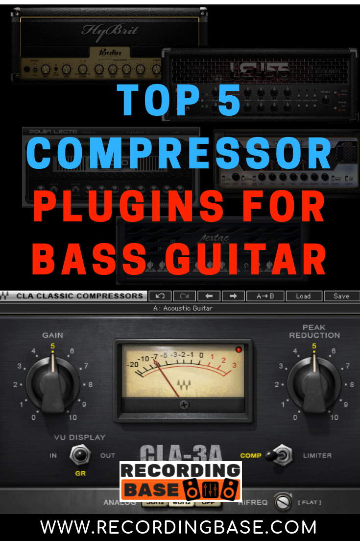 5 Compressor Plugins For Bass Guitar Bass Guitar Compressor Guitar